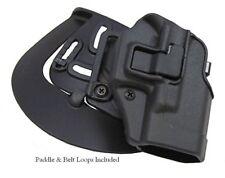 BlackHawk CQC Serpa Holster Springfield XD SC Mod 2 SC Sub Compact 410531BK-R RH