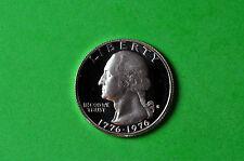 1976-S Deep Cameo Washington SILVER GEM Proof US Quarter (40% SILVER)
