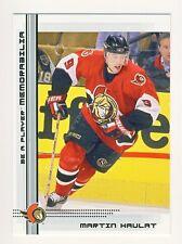 Martin Havlat 2000-01 BAP Memorabilia Hockey Rookie Card RC - 159ct Lot