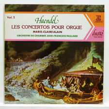 ERATO DUE 20226 MARIE-CLAIRE ALAIN, JF PAILLARD - HAENDEL organ concertos vol.2