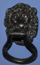 VINTAGE METAL LION HEAD DOOR KNOCKER