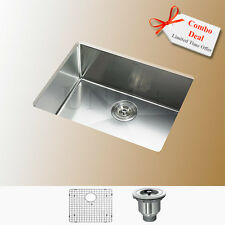 "Best Seller 23"" R10 Small Radius Undermount Stainless Steel Kitchen Sink KUR2318"