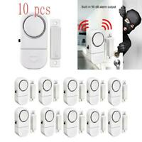 10PCS Wireless Home Window Door Burglar Security ALARM System Magnetic Sensor