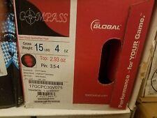 "NIB 15 lb 4 oz 900 Global Compass LE Bowling Ball w/ 3.5-4"" pin and 2.93 oz Top"