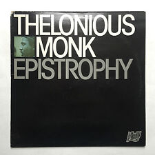 THELONIOUS MONK - EPISTROPHY * VINYL LP * FREE P&P UK * AFFINITY AFF 26 * JAZZ *