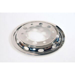 """1pr x 22.5"""" Bolt On Front Wheel Liners - Stainless Steel - FREE POSTAGE"""