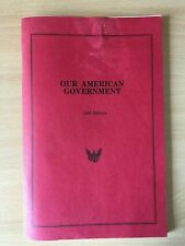 More details for our american government - 1993 edition