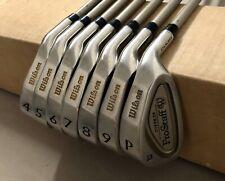 Wilson ProStaff Oversize Stainless Irons 4-PW Ladies Flex Graphite Golf Club Set