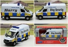 Wedding Day Personalised Name Gift Ring Security Police Mercedes Van Toy BOXED