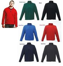Mens Regatta Fleece Jumper Top Zip Neck Micro Pull Over Warm Hiking Outdoor