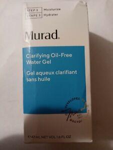 Murad Clarifying Oil - Free Water Gel 1.6 oz Step 3 Moisturizer new in box