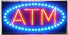 Ultra Bright LED Neon Light Animated Motion ATM Business Sign B86