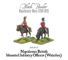 Warlord BNIB Mounted Napoleonic British Infantry Colonels (Waterloo) WGN-BR-30