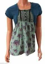 George Short Sleeve Casual Plus Size Tops & Shirts for Women