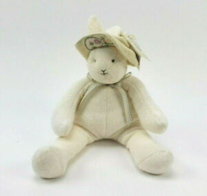 """Hallmark Bunnies By The Bay Baylee 12"""" Bunny Plush Super Soft Cottage Country"""