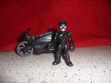 Fisher Price Imaginext Dc Super Amigos-Cat Woman & Bike