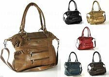 Lorenz Zip Totes with Outer Pockets