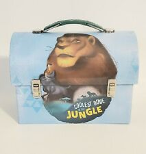 Disney The Lion King Simba & Pumbaa Tin Lunchbox Carrier BRAND NEW