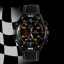 Men's/Youths/Teenagers GT Silicone Grand Touring Sports Chronograph watch