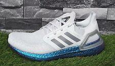 Adidas Ultra Boost 20 Para hombre Zapatos Zapatillas correr EG0755 Gris Dash RRP £ 159.95