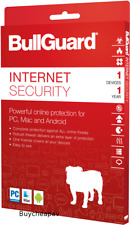 BullGuard Internet Security 2020 1 Year 1 PC/Mac/Android - License Key ONLY