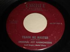Original Joy Harmonizers: Teach Me Master 45 - Black Gospel