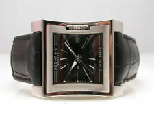 BEDAT NO 1 BLACK DIAL STAINLESS STEEL AUTOMATIC MENS WATCH BED030052 BLACK STRAP