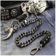 Pratical Alloy Double Roof Durable Basic Biker Trucker Key Jean Wallet Chain