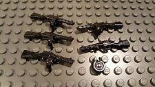 Brickarms PPSh-41 SMG Lego Minifigure Scale Gun 5 Pack Russian World War 2