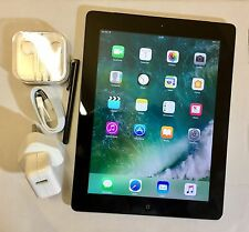 PERFECT Apple iPad 4th Generation 16GB, Wi-Fi + 4G (EE), 9.7in, Black + EXTRAS