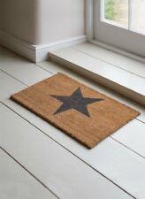 Garden Trading Small Star Doormat Coir Hallway Door Mat 65cm x 40cm