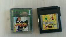 "rare lot jeux GAMEBOY football ""ronaldo""zidane"" vintage  NINTENDO PORT OFFERT"