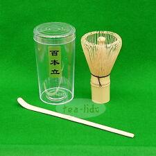 Matcha WHISK e SCOOP, Chasen, Matcha Green Tea, fatti a mano, Bamboo cerimoniali