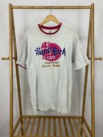 VTG 90s Hard Rock Cafe Dhahran Saudi Arabia Two Tone T-Shirt Size L USA