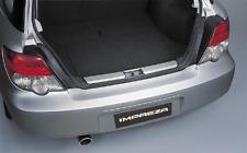 Subaru impreza wagon Protectora Trasera Cromo Portón Trasero Arranque Montana Blobeye Hawkeye