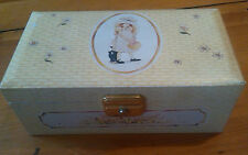 Vintage Twirling Holly Hobbie Musical Wind Up Jewelry Box American Greetings