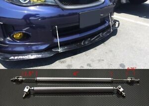 "Silver 4""-7"" Struts Shock Rod Bar for Ford Bumper Lip Diffuser Spoiler splitters"