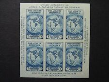 UNITED STATES. 1934 NATIONAL STAMP EXHIBITION. NEW YORK. MS734. MNH