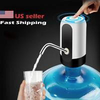 USB Water Bottle Pump Dispenser Automatic for 5 Gallon Universal Electric Switch
