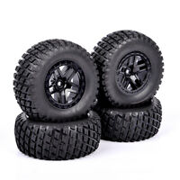 4X 12mm Hex 1:10 Short Course Truck Tires&Wheels 04&01 For TRAXXAS SlASH RC Car