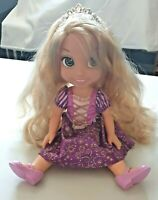 JAKKS Disney Princesses Rapunzel 14 Inch Doll Film Character with Shoes & Crown