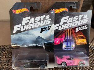 Hot Wheels Fast & Furious Nissan Skyline Honda S2000 on card
