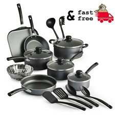 Tramotina Primaware Non Stick Cookware Set 18 Piece Shattered Resistant Gray