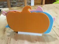 Chopping board set 3 (whale, pig, pumpkin), NEW, Open box