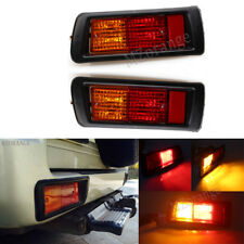 2X For Toyota Land Cruiser 1997-2002 Tail Rear Bumper Brake Light Signal Lamp