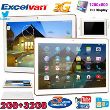 "10.1"" Tablet PC Android 3G WIFI Smartphone QuadCore 2+32GB Phablet 2*SIM 4700mAh"