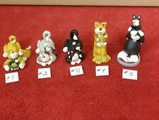 Cat With Kitten Figurines~Your Choice~Choose Style And Color