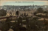 Rennes Frankreich alte AK ~1910 Vue Générale prise du Thabor Panorama ungelaufen