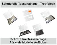 3 - 10 x Schutzfolien für DeLonghi - Prima Donna - Abtropfblech - Tropfblech