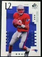 2000 Upper Deck SP Authentic #118 Tom Brady Rookie Reprint - Mint - NE Patriots